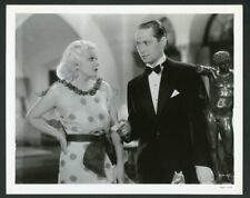 "JEAN HARLOW + FRANCHOT TONE Original Vintage 1934 Photo ""THE GIRL FROM MISSOURI"""