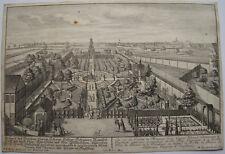CARL REMSHART D'APRES ENGELBRECHT, GRAVURE VERS 1730, SCHAUER AUGSBOURG