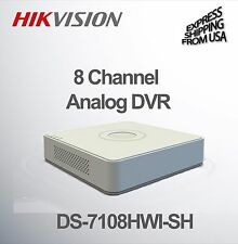 8 Channel Security Surveillance Mini DVR  WD1 Analog Hikvision DS-7108HWI-SH
