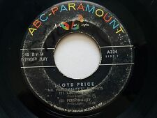 "LLOYD PRICE - Mr Personality's Big Hits RARE EP 7"" ABC Paramount Rock n Roll R&B"