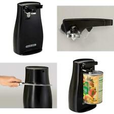 Power Electric Automatic Can Opener with Knife Sharpener Black, Proctor Silex
