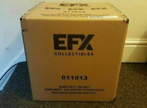 EFX Boba Fett Precision Cast Helmet Star Wars Empire Strikes Back lifesize 1:1