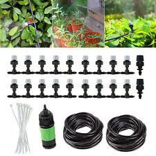 67FT Water Mister Misting Cooling System Nozzles Garden Irrigation Sprinkler Set