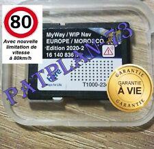Version 2020/2021 - Carte SD GPS Europe + Maroc - RNEG 2020-2 Peugeot Citroën