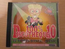 CD AUDIO - 100 % DISCOTHEQUE - VOL 10 - PAR TONY BRAM'S - réf cd6