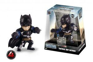 "Jada Toys Die-Cast Metalfigs JUSTICE LEAGUE TACTICAL SUIT BATMAN 4"" Figure M545"