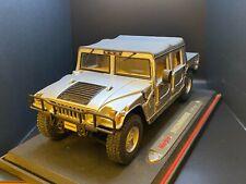 Maisto Hummer H1 1/18 Silver Soft Top