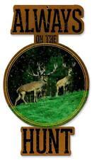 Buck Deer Hunting Metal Sign Man Cave Garage Body Shop Cabin Barn Shed Lodge