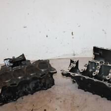 07 KAWASAKI NINJA ZX6R   ENGINE MOTOR CRANKCASE CRANK CASES BLOCK W/ PISTONS