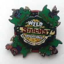 Disney Pin AK - Stitch's Wild Adventures 2004 -Triceratops Spin Pin LE Stitch