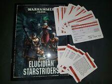 Rogue Trader Kill Team Elucidian Starstriders codex/strategems A 40k