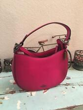 NWT Coach 54868 Cerise Burnished Glovetanned Leather Nomad Crossbody Shoulder