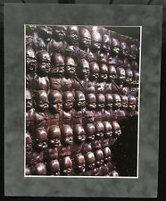 "HR Giger ""Baby Wall"" 1996 Geiger Bar Suede Matted Mounted Print Acid Free Babies"