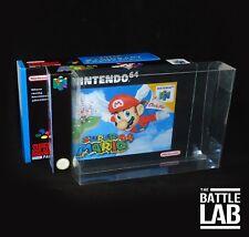 N64 / SNES Game Box Plastic Case Protectors ( pack of 5 )