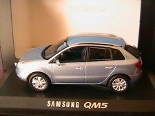 SAMSUNG QM5 BERLINE 5 PORTES 2009 BLEU CLAIR METAL NOREV 800953 1/43 SUV 4X4