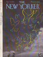 1960 New Yorker May 28 - Chasing Butterflies