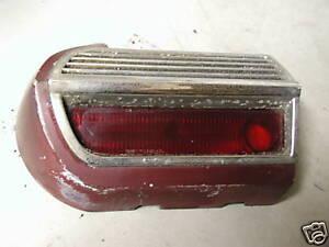 STUDEBAKER DRIVER SIDE TAIL LIGHT 1966 65 64