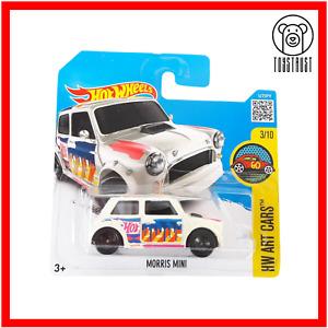 Mini Morris HW Art Cars 3/10 193/250 Collectible Diecast by Hot Wheels Mattel