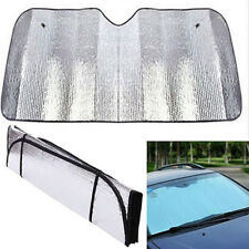 CAR WINDSCREEN FRONT VISOR HEAT COVER FOLDABLE REFLECTIVE SUNSHADE UNIVERSAL