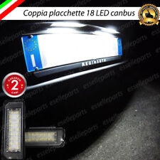 PLACCHETTE A LED LUCI TARGA 18 LED SPECIFICHE VW GOLF IV 4 6000K NO ERROR