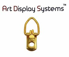 Ams 1 Hole Narrow Bp D-Ring Hanger– No Screws– 100 Pack by Art Display Systems