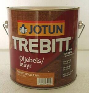 3l Jotun Trebitt Holzlasur Holz Norwegische Lasur Schutzlasur
