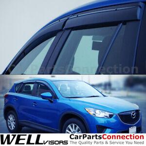 WellVisors Window Visors 13-16 Mazda CX-5 Side Deflectors
