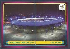 PANINI EURO 2012- #022/023-STADION METALIST-CAPACITY-35,000