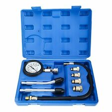 Gas Engine Cylinder Compression Tester Car Motorbike Diagnostic Tool Set 300psi