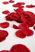 SILK ROSE PETALS WEDDING BIRTHDAY CELEBRATION DECORATION CONFETTI IVORY RED PINK
