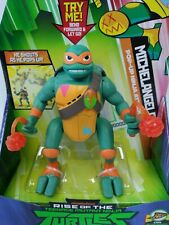 Rise of the TNMT Michelangelo Pop-Up Ninja Attack FREE SHIPPING & THANK YOU GIFT