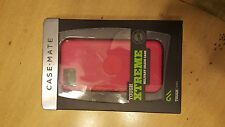 NEW CASE MATE TOUGH XTREME CASE COVER FOR APPLE IPHONE 5 PINK RED CM022426
