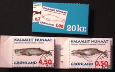 Greenland Automat Booklet #01 Whales - CTO - EXCELLENT!