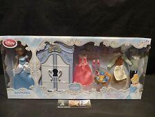 Disney Store Authentic Cinderella princess doll wardrobe play set accessories