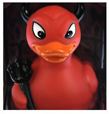 Devil Ducky Rubber Duck - Celebriduck