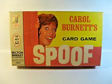 Carol Burnett's Spoof Card Game Milton Bradley