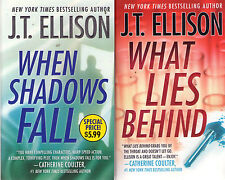 Complete Set Series - Lot of 4 Dr. Samantha Owens books by J.T. Ellison Suspense