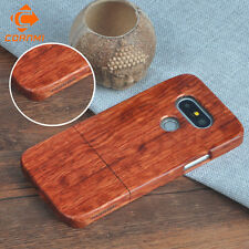 Natural Rosewood Bamboo Wood Shell Hard back Case Cover for LG G5 Free Shipping