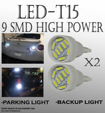 4 pieces Crystal White T15 LED Replacement Auto Sidemarkers Plug Lamps Bulbs S28