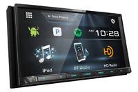 """Kenwood DDX775BH 6.95"""" WVGA DVD Receiver with Bluetooth & HD Radio R/B"""