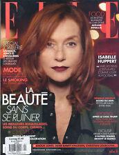 Elle France November 18th 2016 Isabelle Huppert