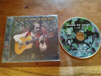Paco de Lucia Luzia CD 1998 Mercury Guitarra Flamenco - T
