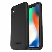 GENUINE Apple iPhone X 10 Otterbox Symmetry Clear Case Cover - Black