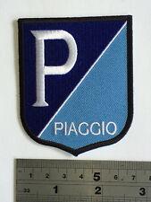Piaggio (Vespa) Shield Patch - Embroidered - Iron or Sew On