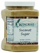 Sucanat Sugar - 3 Lb Tub - Free Expedited Shipping!