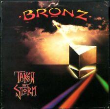 BRONZ 'Taken By Storm' Near Mint Never played 1984 1st UK press LP