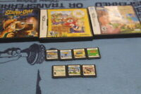 nintendo ds game lot ( mario naruto) and more.