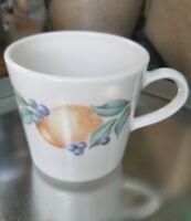 Lot of 4 Corning Corelle Abundance Fruit Coffee Tea Cup Mug USA