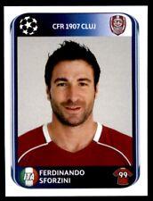 Panini Champions League 2010-2011 Ferdinando Sforzini CFR 1907 Cluj No. 344