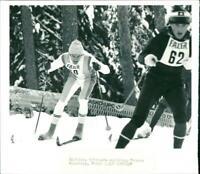 Thomas Wassberg, Swedish skier. - Vintage photograph 2493758